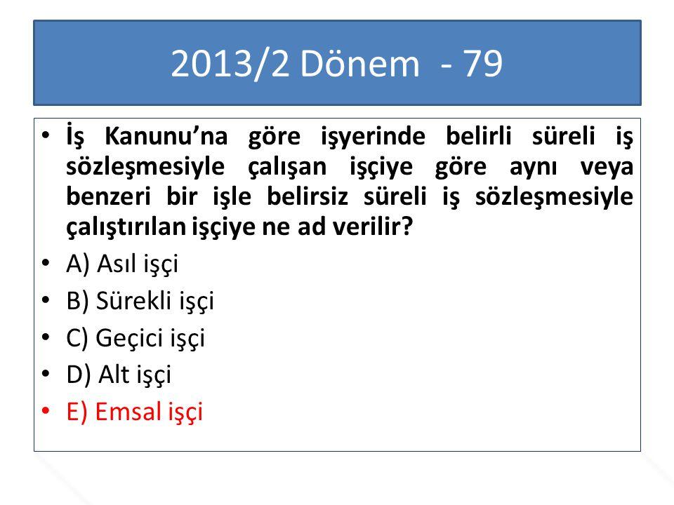 2013/2 Dönem - 79