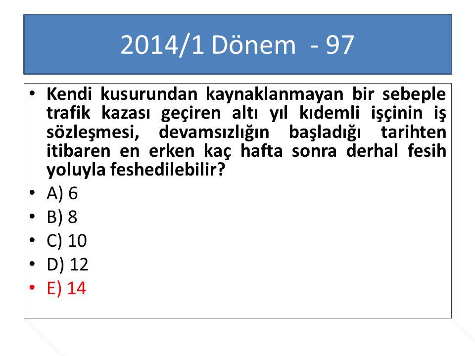2014/1 Dönem - 97