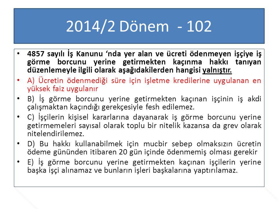 2014/2 Dönem - 102