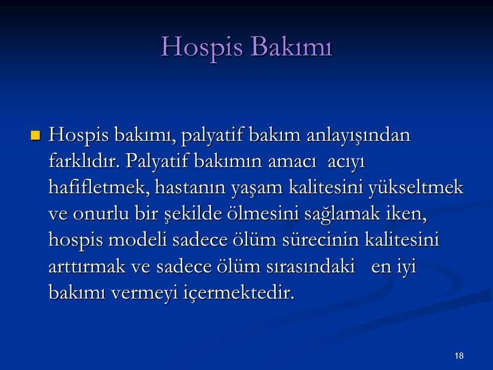 Hospis Bakımı