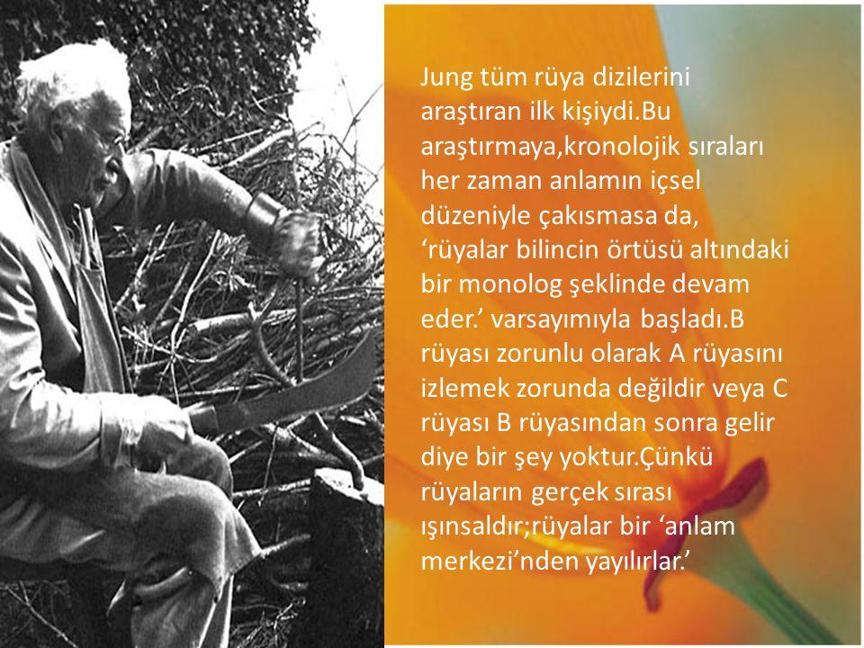 Jung tüm rüya dizilerini araştıran ilk kişiydi