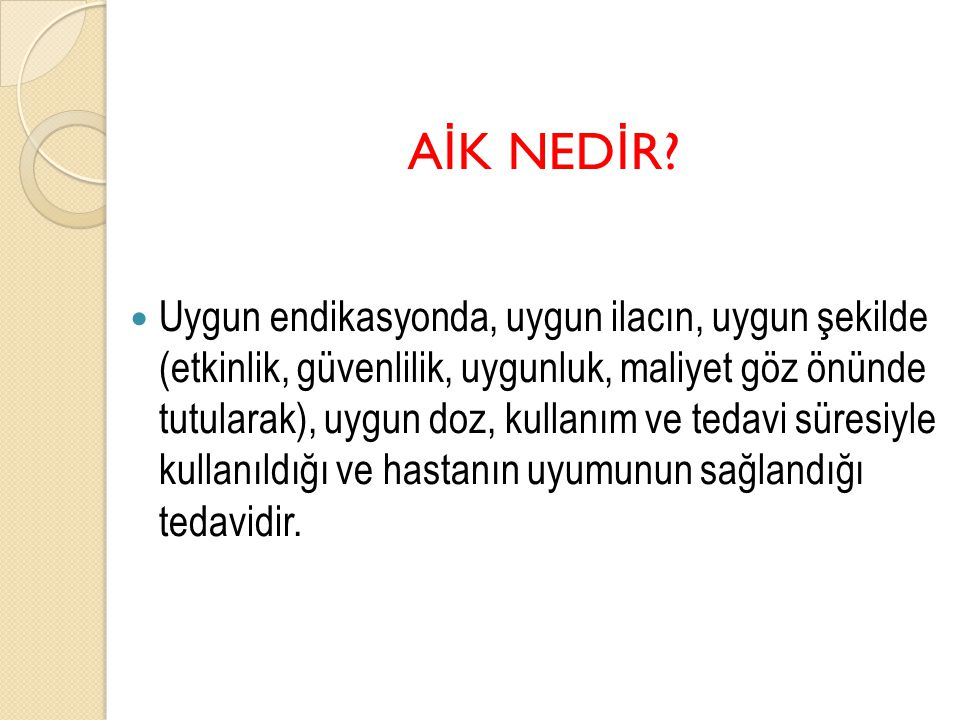 AİK NEDİR