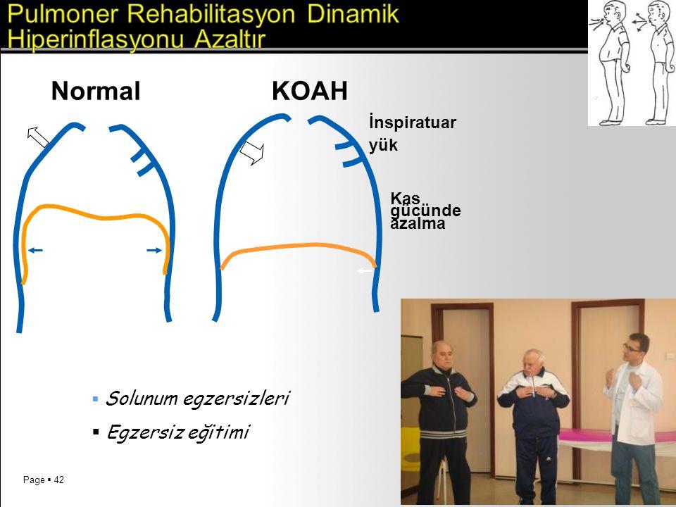 Pulmoner Rehabilitasyon Dinamik Hiperinflasyonu Azaltır