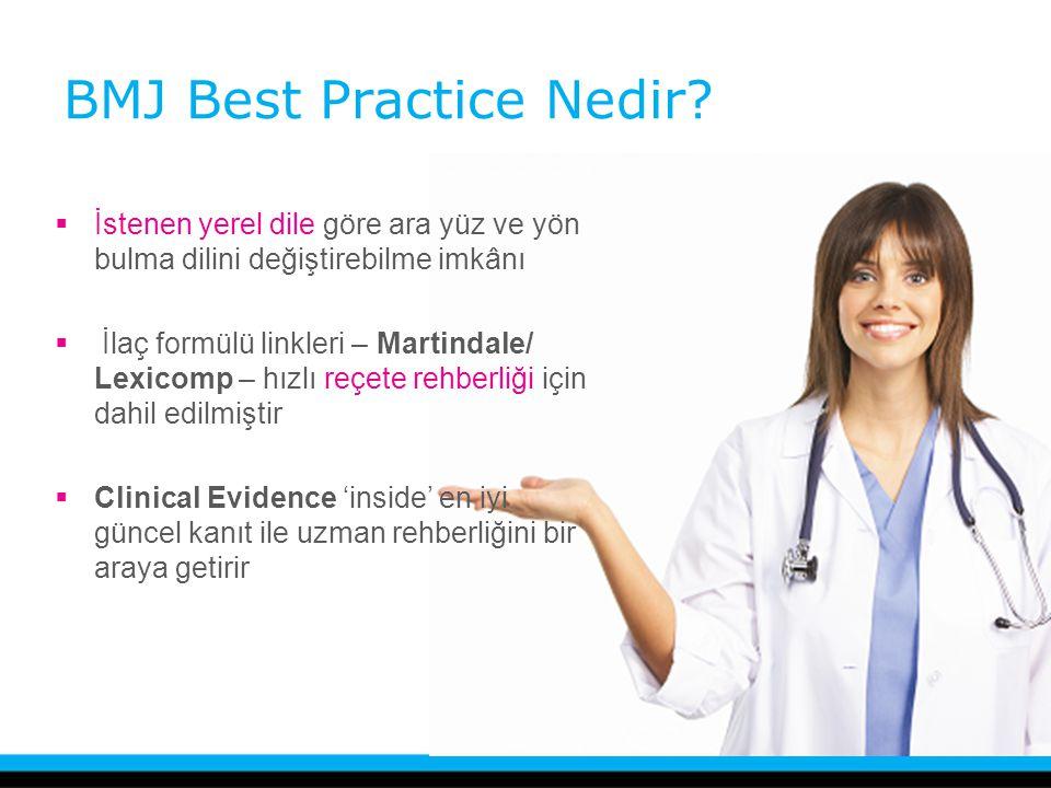 BMJ Best Practice Nedir