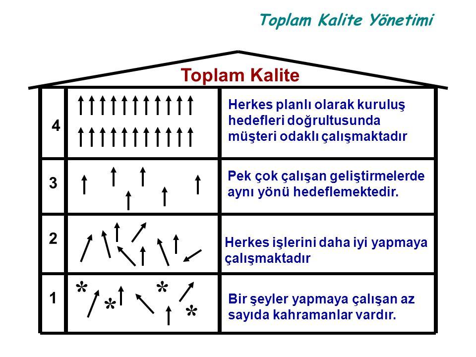 * Toplam Kalite 4 3 2 1 Herkes planlı olarak kuruluş
