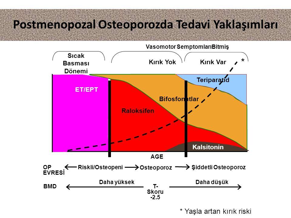 Postmenopozal Osteoporozda Tedavi Yaklaşımları