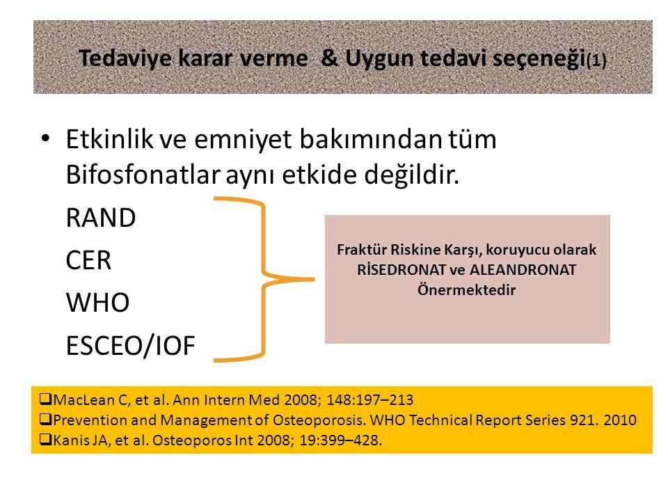 Tedaviye karar verme & Uygun tedavi seçeneği(1)
