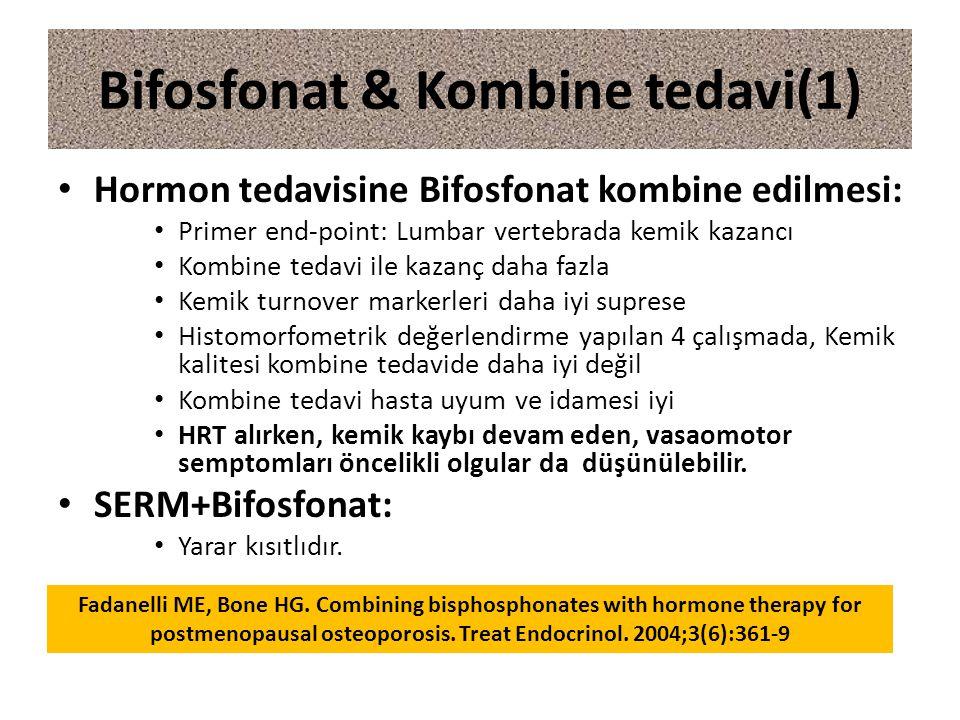 Bifosfonat & Kombine tedavi(1)