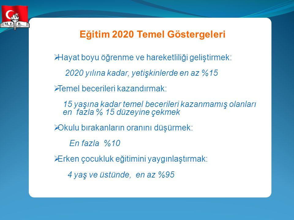 Eğitim 2020 Temel Göstergeleri