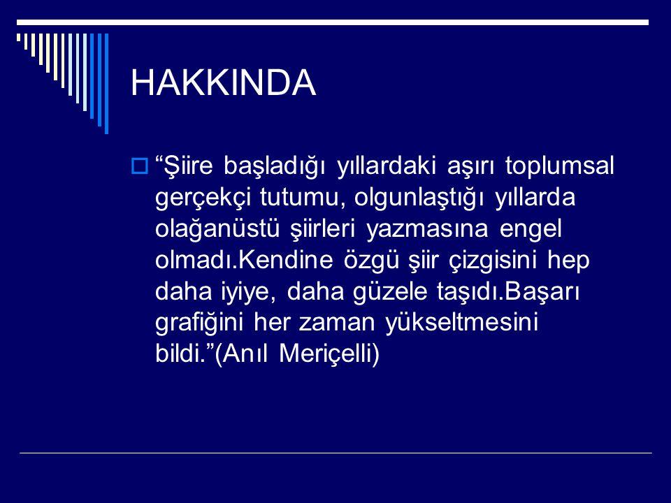 HAKKINDA