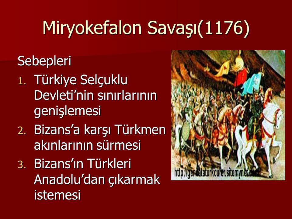 Miryokefalon Savaşı(1176)