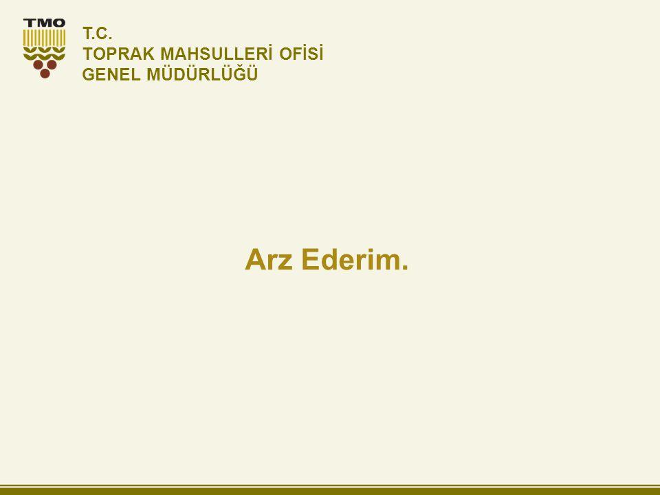 T.C. TOPRAK MAHSULLERİ OFİSİ GENEL MÜDÜRLÜĞÜ