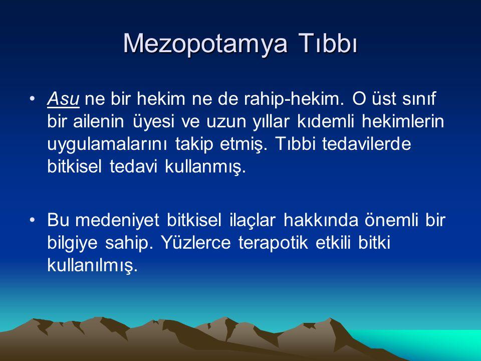 Mezopotamya Tıbbı