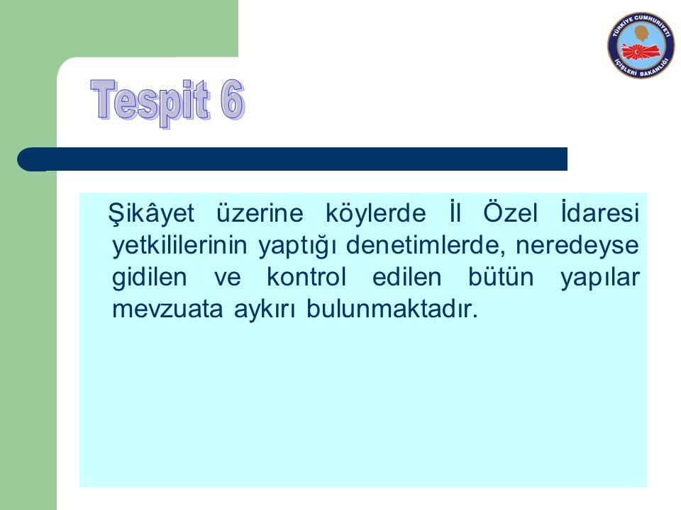 Tespit 6