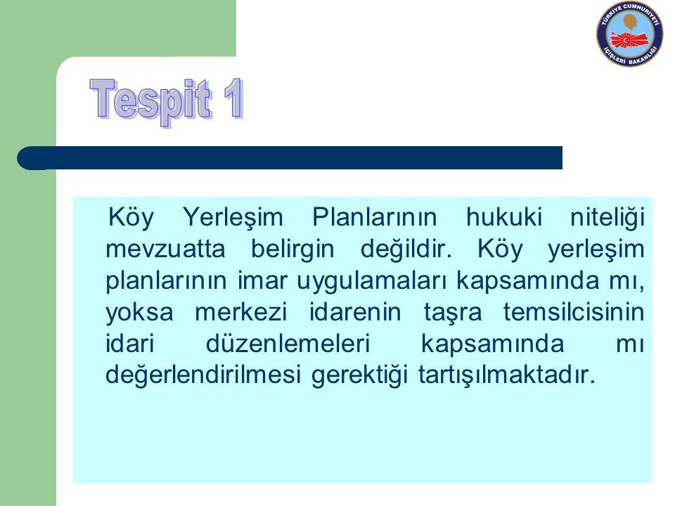 Tespit 1