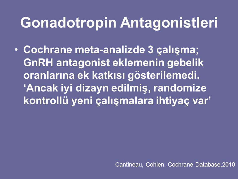 Gonadotropin Antagonistleri