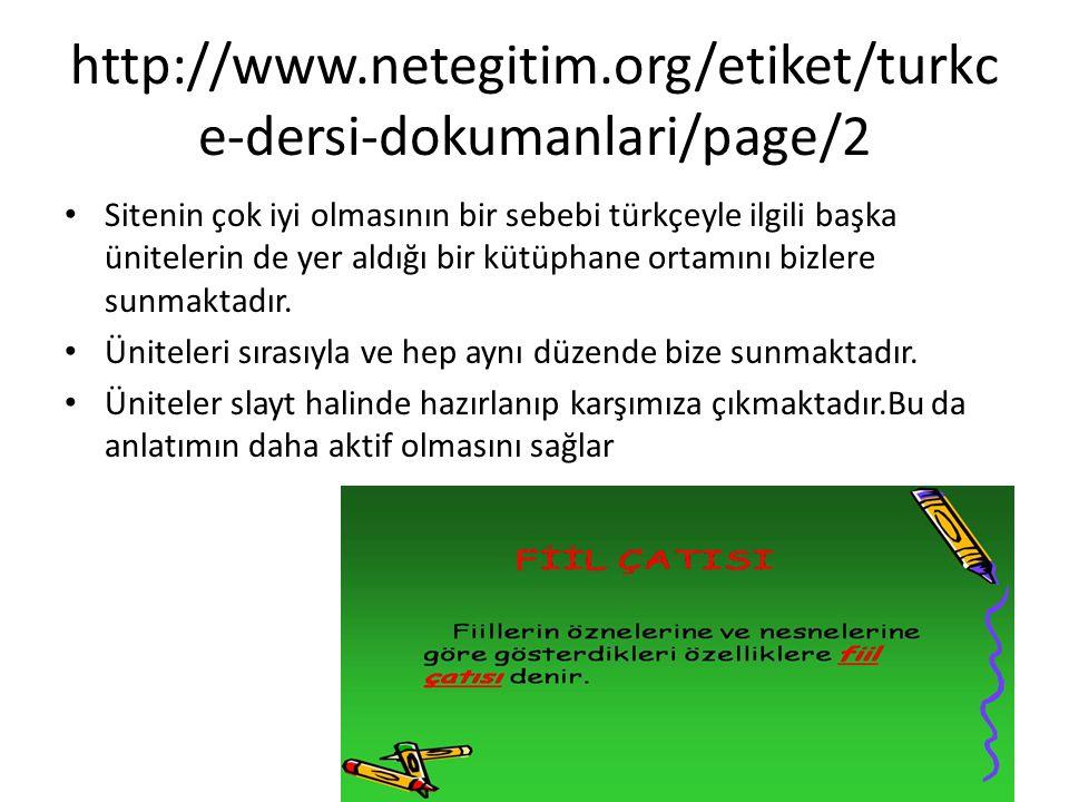 http://www.netegitim.org/etiket/turkce-dersi-dokumanlari/page/2