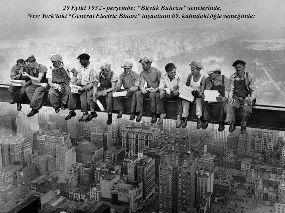 29 Eylül 1932 - perşembe; Büyük Buhran senelerinde,