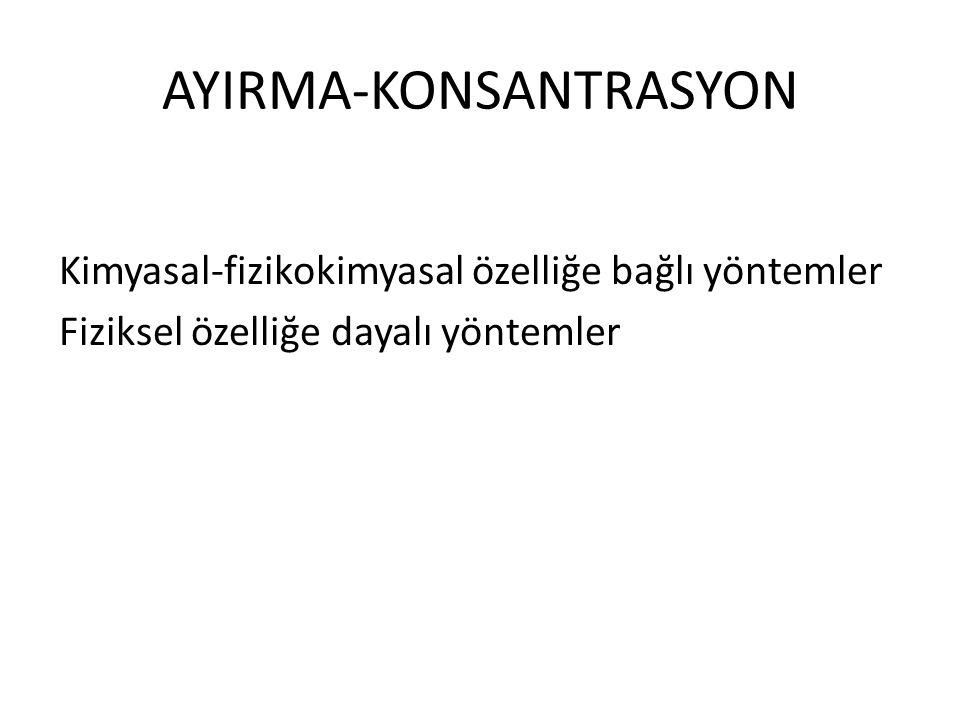 AYIRMA-KONSANTRASYON