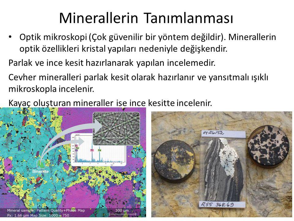 Minerallerin Tanımlanması