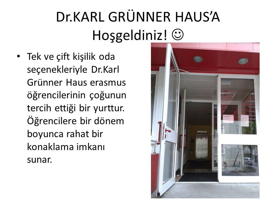 Dr.KARL GRÜNNER HAUS'A Hoşgeldiniz! 