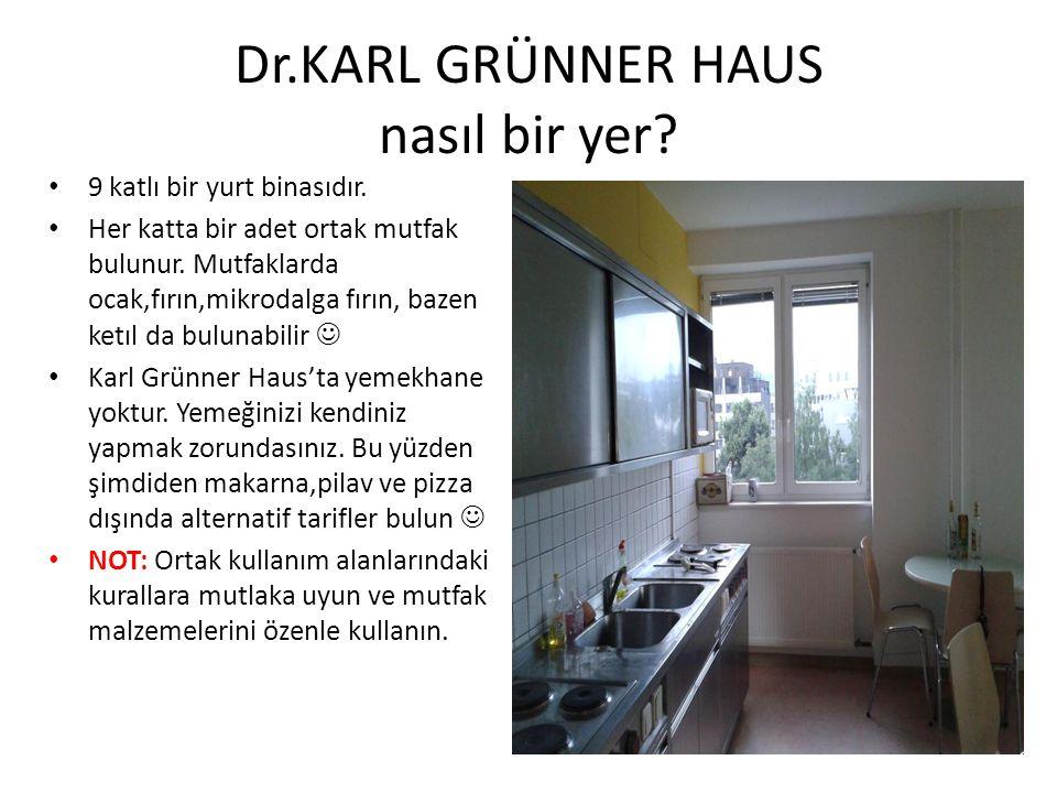 Dr.KARL GRÜNNER HAUS nasıl bir yer
