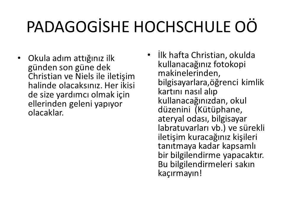 PADAGOGİSHE HOCHSCHULE OÖ