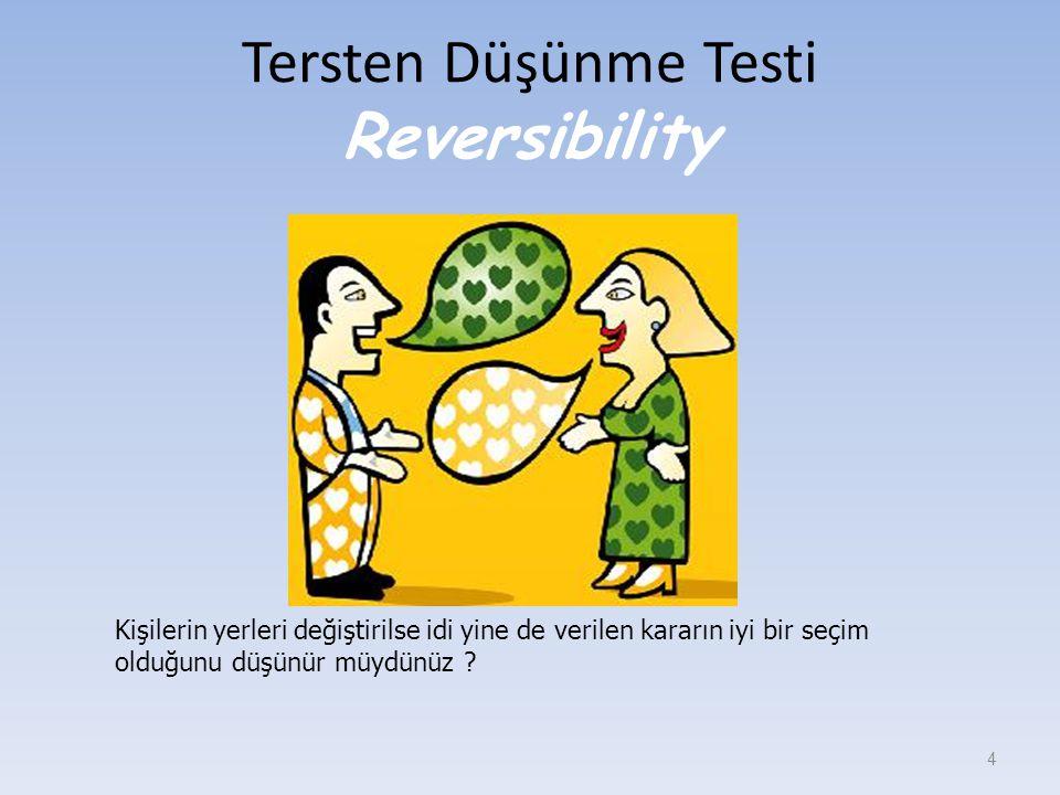 Tersten Düşünme Testi Reversibility