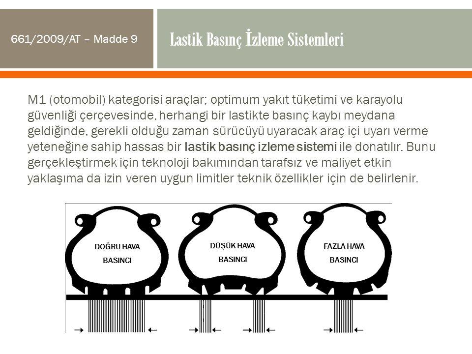 Lastik Basınç İzleme Sistemleri