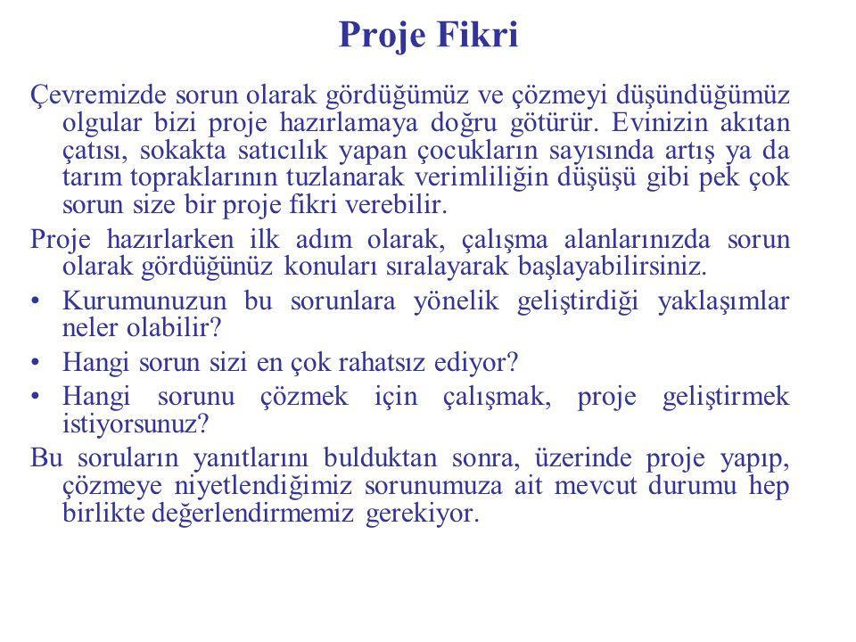 Proje Fikri