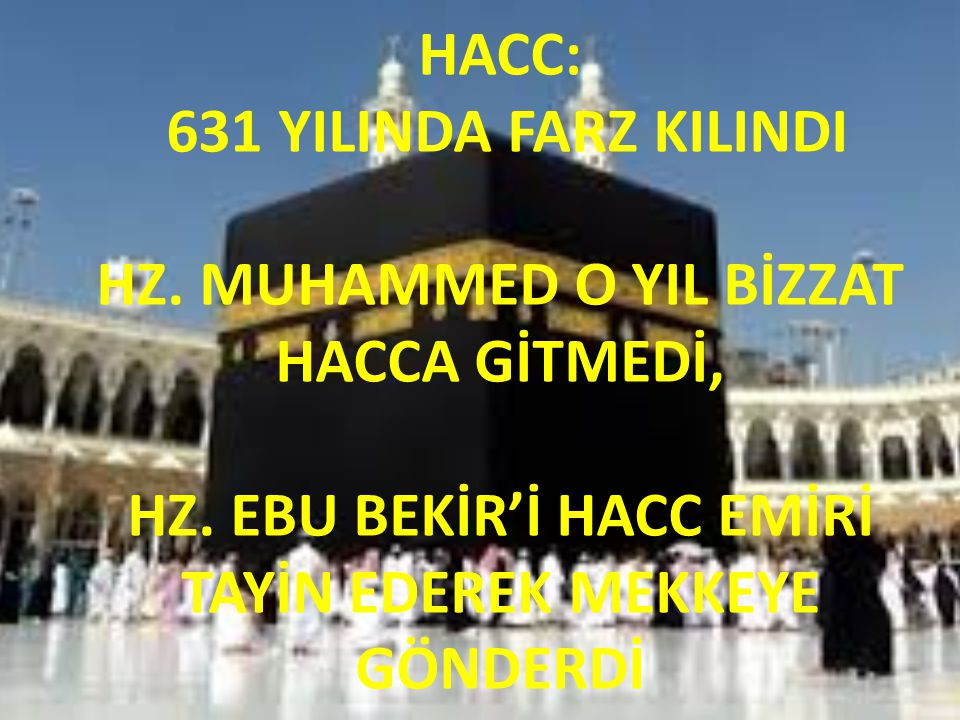 HACC: 631 YILINDA FARZ KILINDI HZ