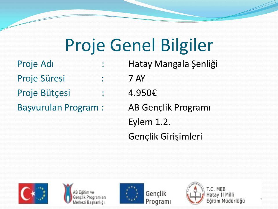 Proje Genel Bilgiler