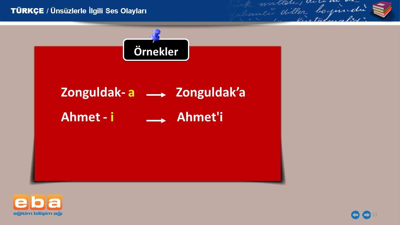 Zonguldak- a Zonguldak'a Ahmet - i Ahmet i