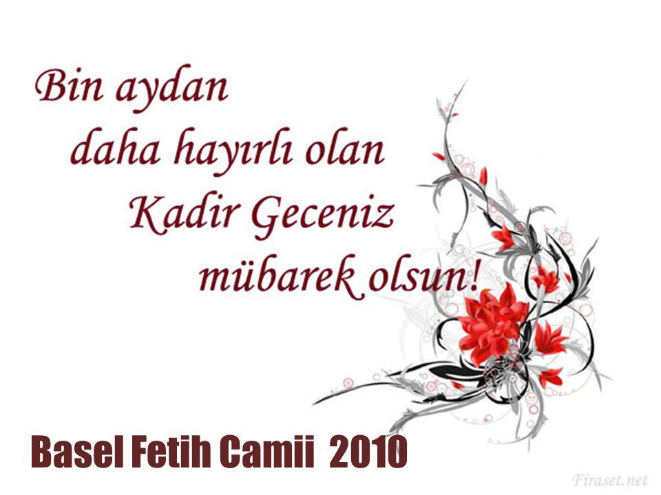 Basel Fetih Camii 2010