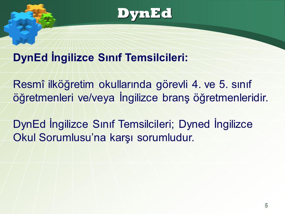 DynEd DynEd İngilizce Sınıf Temsilcileri: