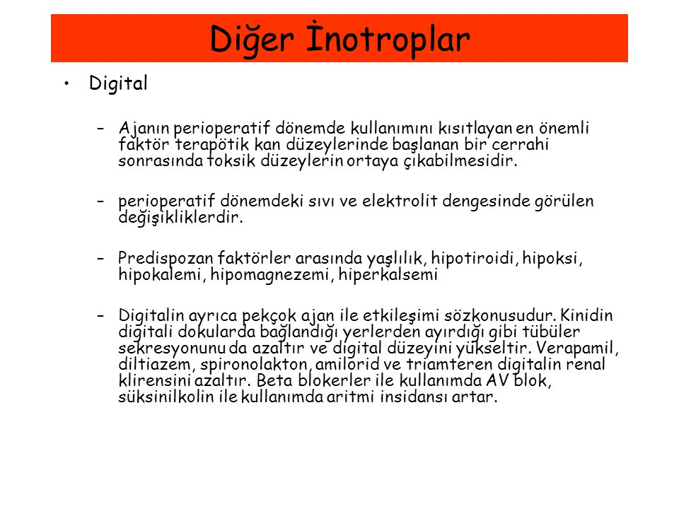 Diğer İnotroplar Digital