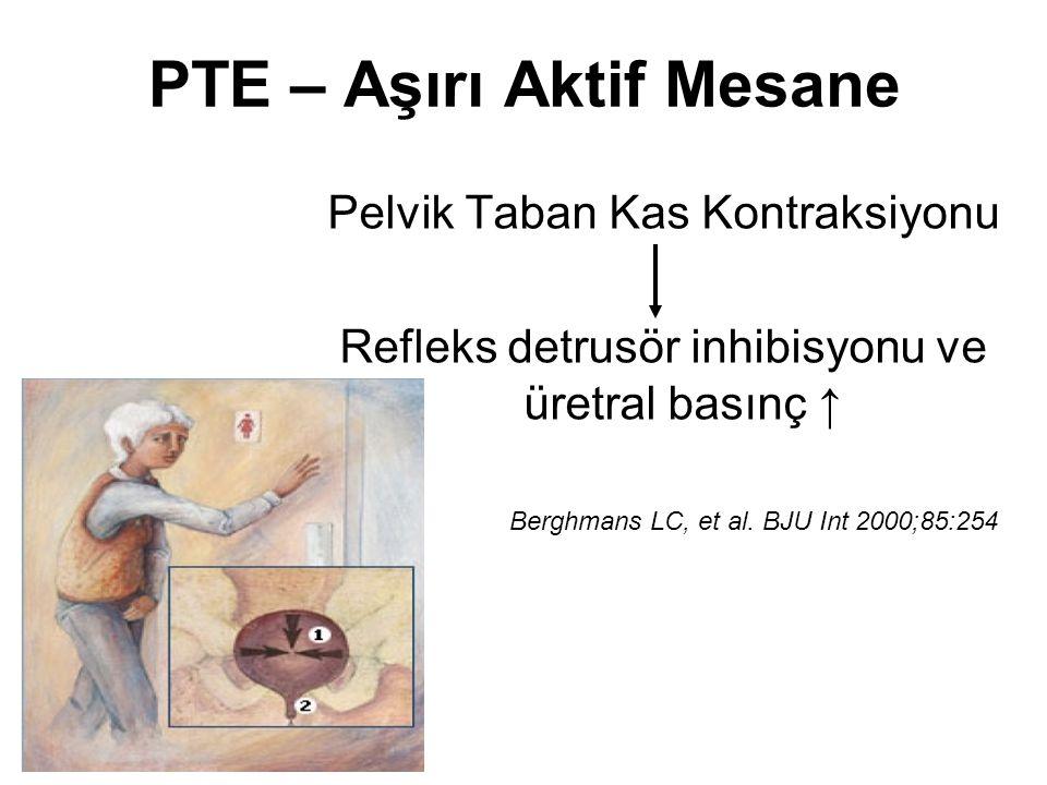 PTE – Aşırı Aktif Mesane