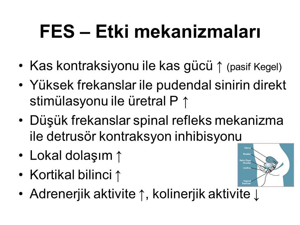 FES – Etki mekanizmaları