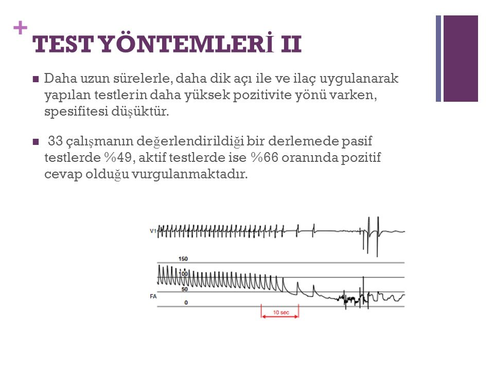 TEST YÖNTEMLERİ II