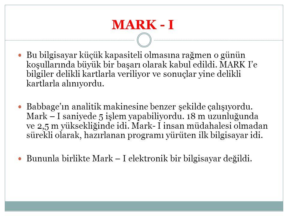 MARK - I