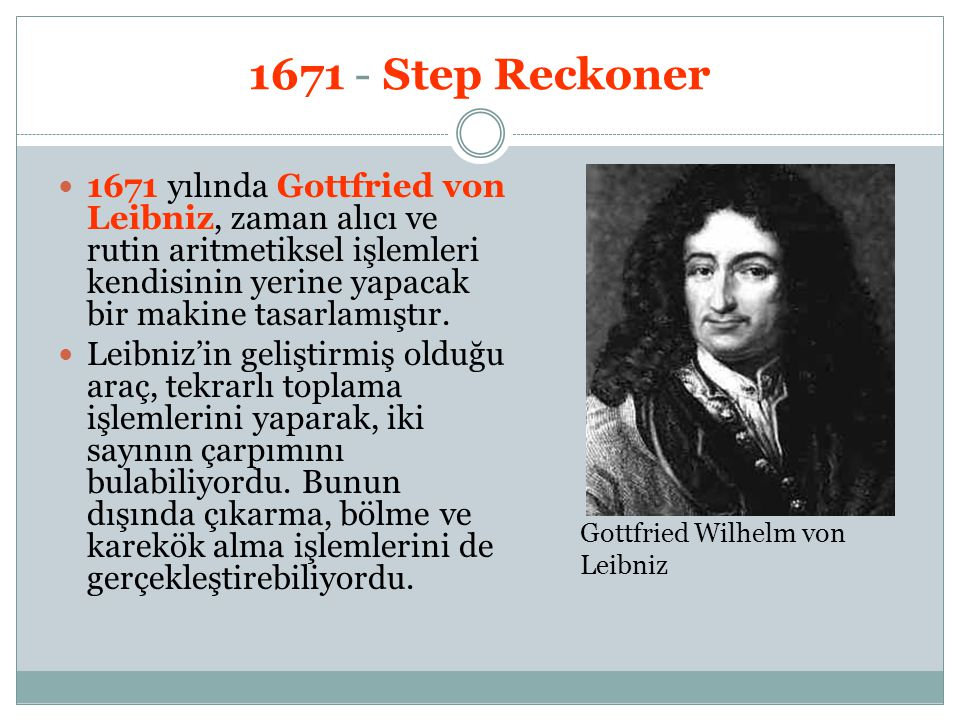 1671 - Step Reckoner