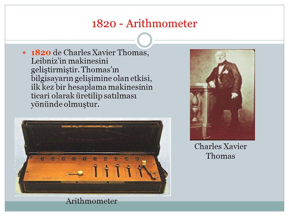 1820 - Arithmometer
