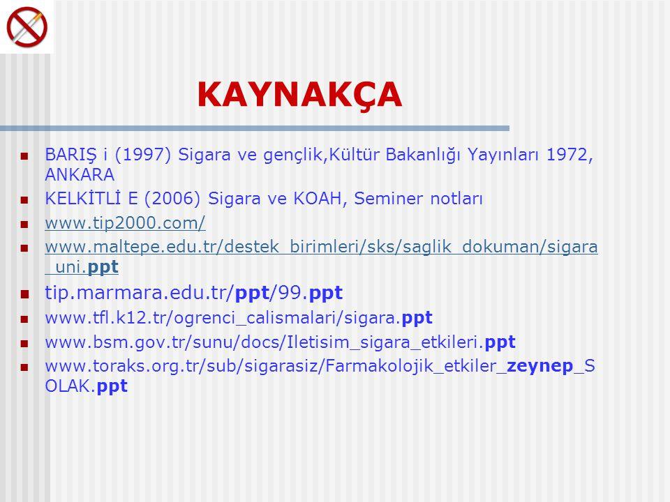 KAYNAKÇA tip.marmara.edu.tr/ppt/99.ppt