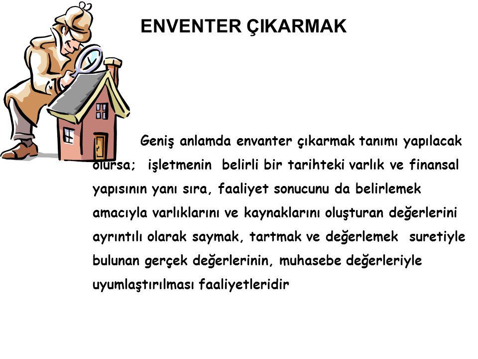 ENVENTER ÇIKARMAK