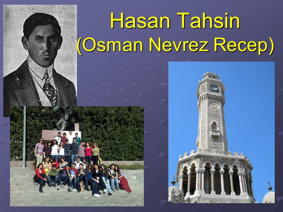 Hasan Tahsin (Osman Nevrez Recep)