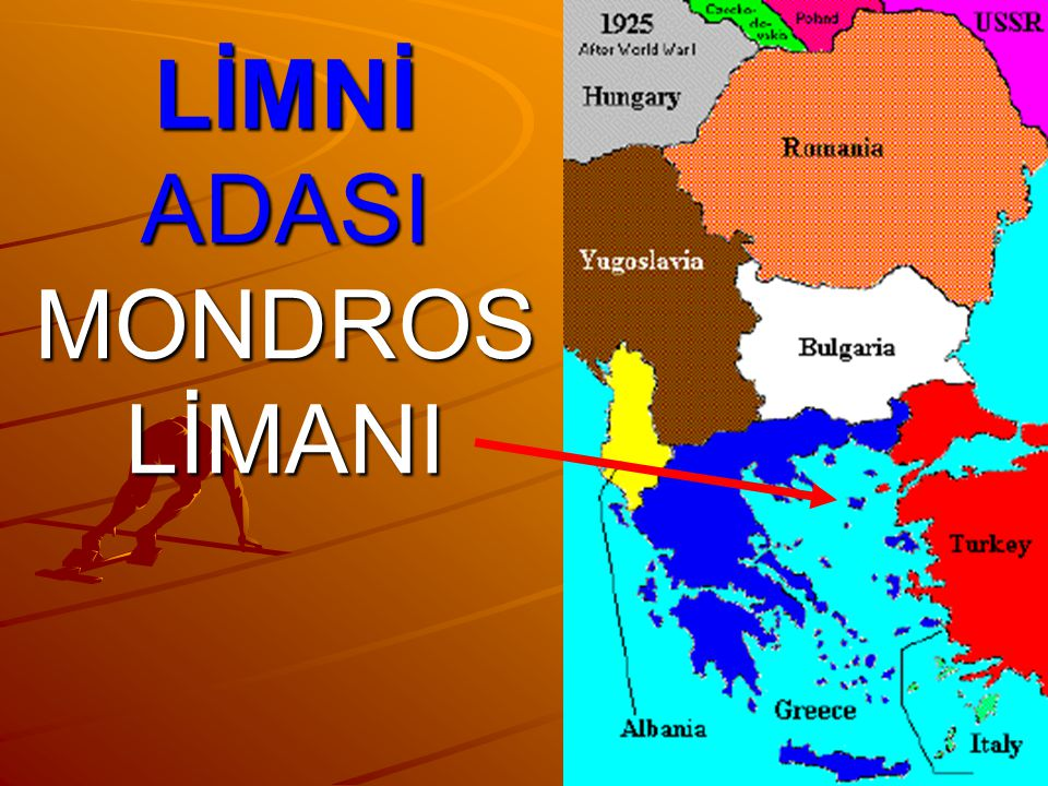 LİMNİ ADASI MONDROS LİMANI