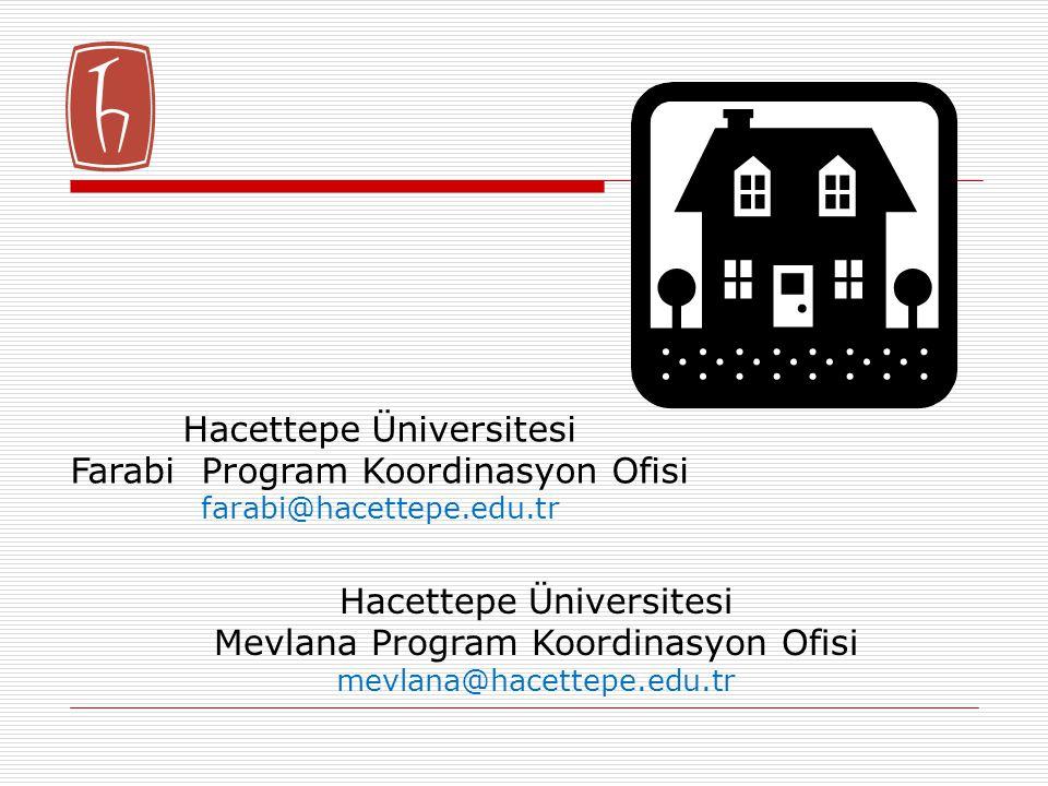 Hacettepe Üniversitesi Farabi Program Koordinasyon Ofisi