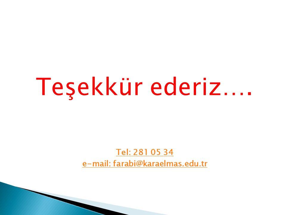 e-mail: farabi@karaelmas.edu.tr