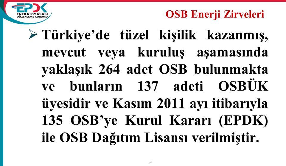 OSB Enerji Zirveleri