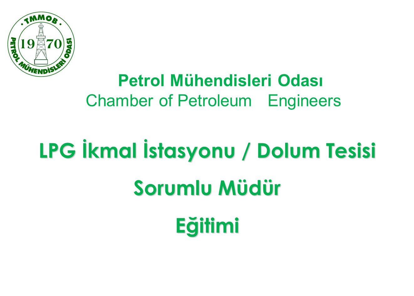 LPG İkmal İstasyonu / Dolum Tesisi